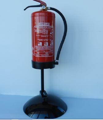 Coluna Expositora Decorativa para Extintores