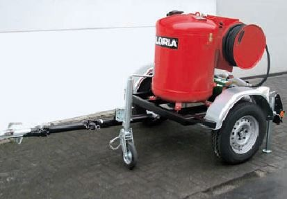 Unidade Móvel Extinção Pó Químico Seco 250 kg GLORIA PA250G