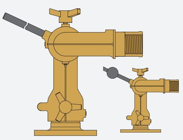 Monitor Incêndios Bronze LMB30   LMB40 Titan