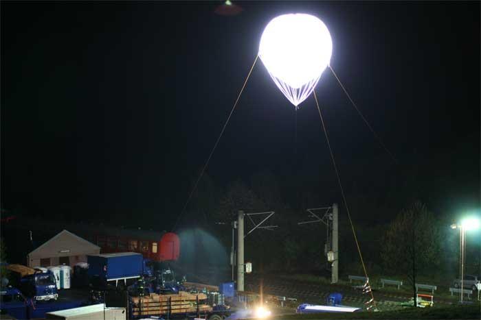 Balões Iluminação Powermoon