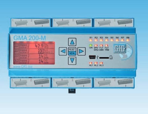 Controlador GMA200-MT para Deteção de Gases