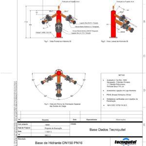 Base de Hidrante DN150 PN16