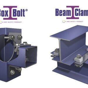Uniões Seguras para Estuturas Aço BeamClamp + BoxBolt