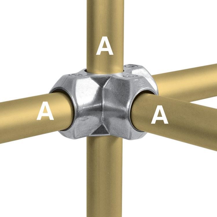 Uniões Tubulares em Alumínio - Kee Lite