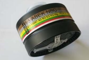 Filtro Proteção Respiratória ABEK NBC 95