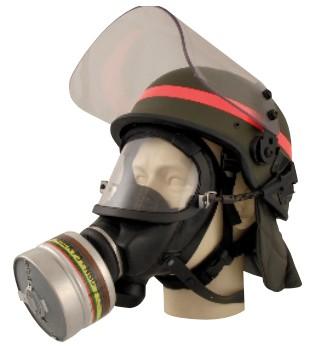 Máscara Facial para a Polícia e Proteção Civil MSA 3S