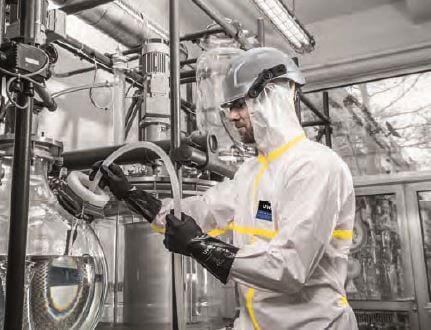 Fato Integral Proteção Química Tipo 3B uvex chem light