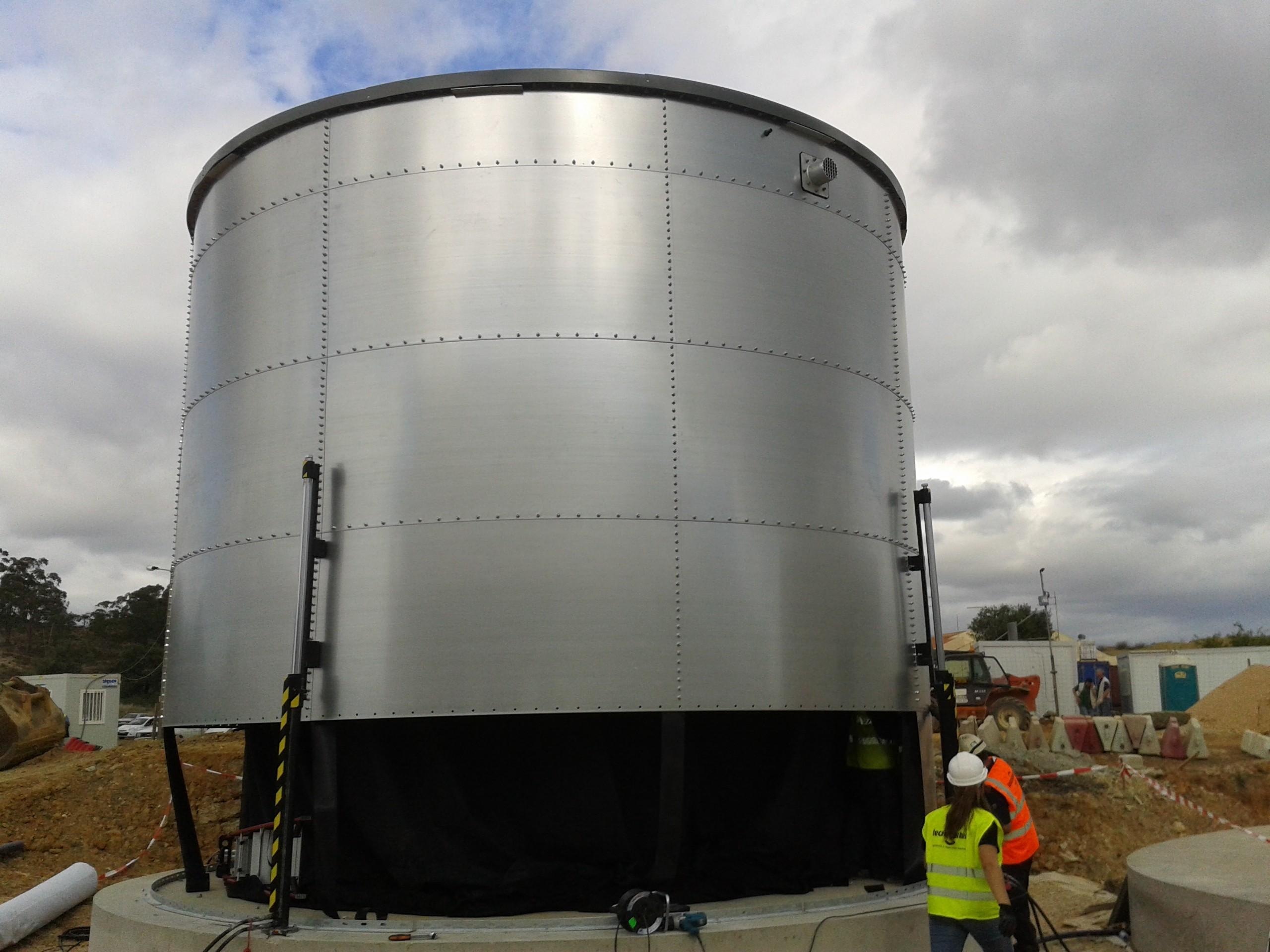 Reservatório de Pré-Engenharia em Aço Galvanizado